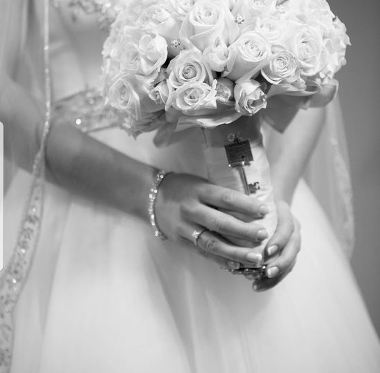 Ornamenting the bouquet