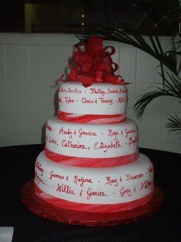 Tmx 1231896351920 Christmaswedding Greensboro wedding cake