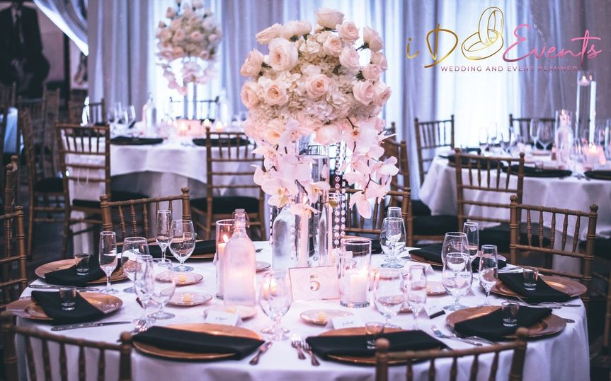 Elegant table settings