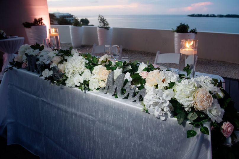 Harper Wedding: Head Table