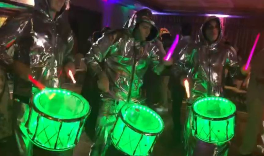 LED Drums With Any Color