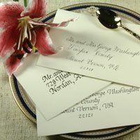 Our calligraphy is absolutely luxurious in that it is completely hand-inked. We are confident once...