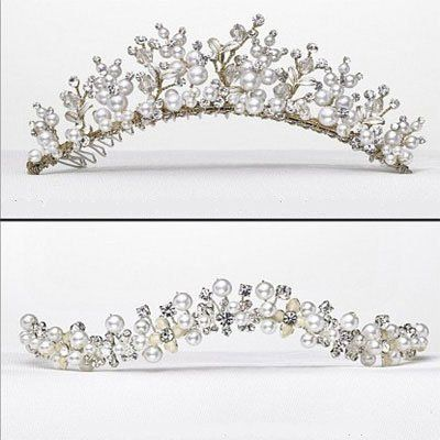 Beautiful Handmade Crystal accented Tiaras
