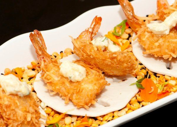 Tmx 1333285026609 CoconutShrimp Bethel, CT wedding catering