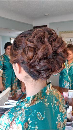 Bride Hair by Elizabeth