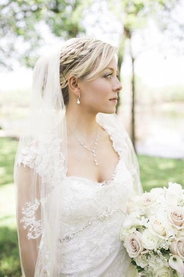 Bride, light and airy