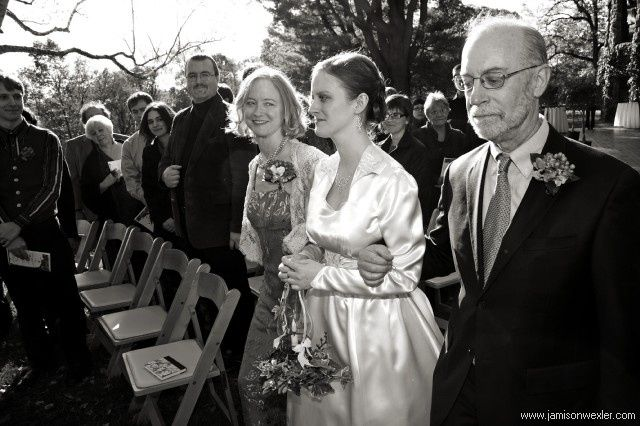 Bride & parents