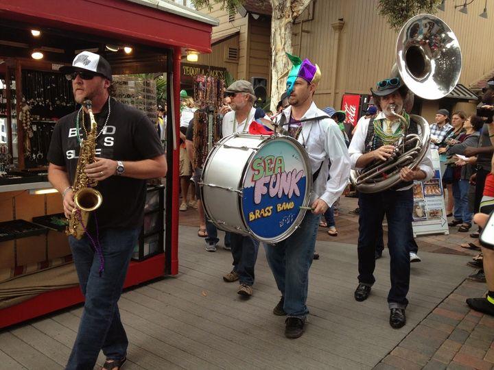 Tmx Sea Funk At Shoreline Village Mardi Gras Parade 51 1767431 159055565350867 Long Beach, CA wedding band