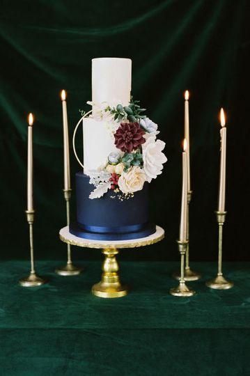 adirondack wedding bespoke wedding cake blue wedding cake boho wedding cake gum past flowers designer cakes elegant wedding cake the fancy cake box 51 908431 161538116293345