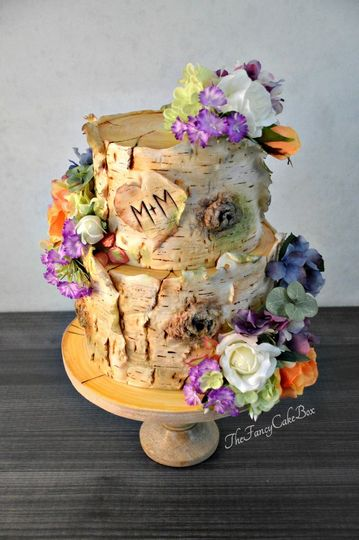 melissa mark wedding cake designer birchbark wedding cake custom wedding cake designer wedding cake lake placid weddings the fancy cake box 51 908431 157788876892983