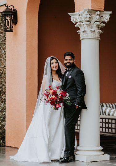 Rosewood Mansion wedding photo