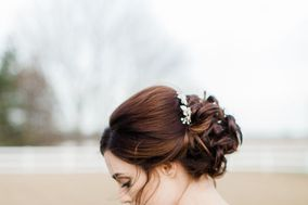 Sweetly Pinned Hair and Makeup