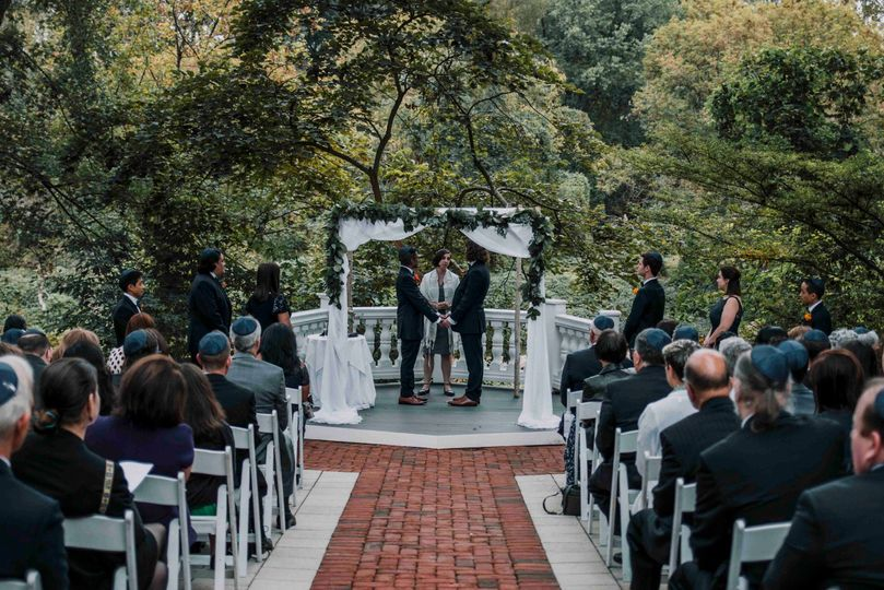 A beautiful ceremony