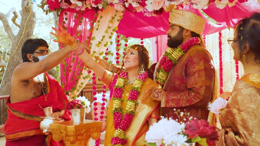Trisha and Sanjay wedding