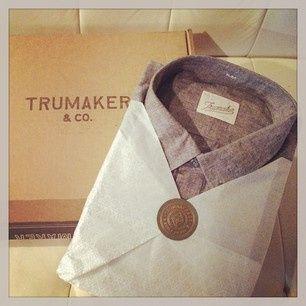 trumaker first shirt