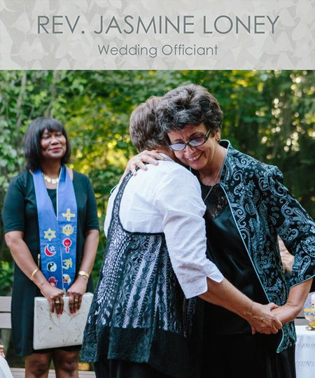 Rev. Jasmine Loney - Wedding Officiant