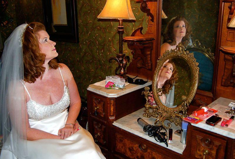 Reflective Bride
