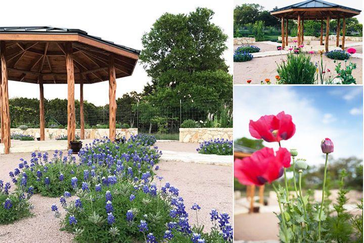 Flower Garden & Gazebo