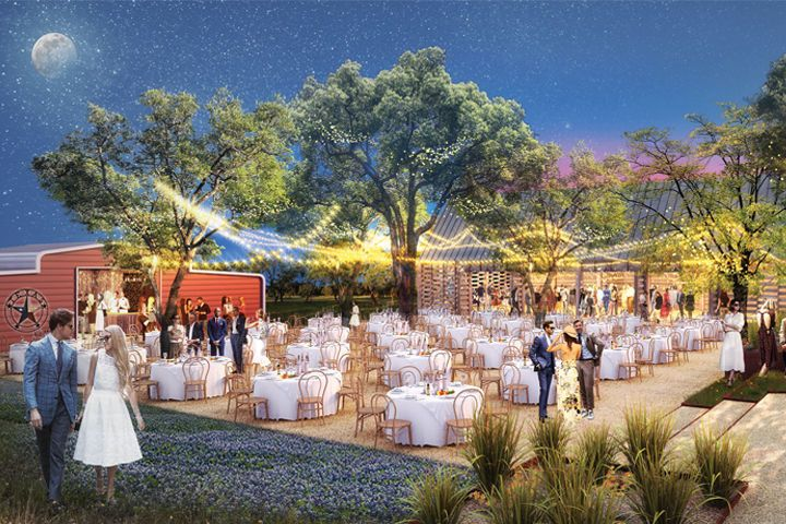Great Hall, Event Bar & Tree-lined Plaza