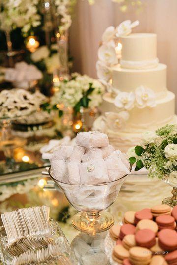 Luxe Wedding Desserts