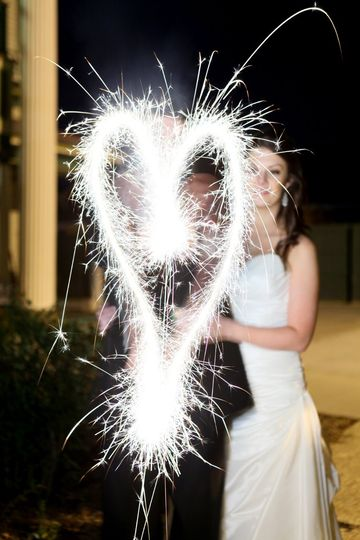 Heart sparklers