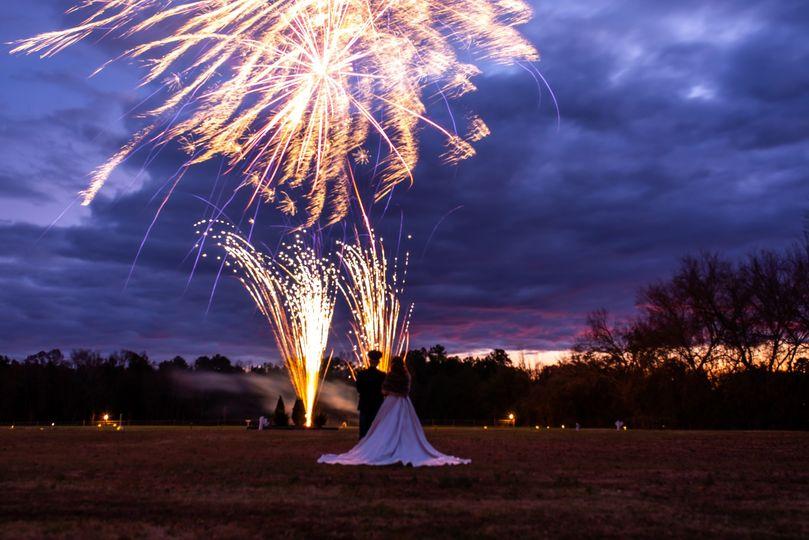 Dusk Fireworks 2