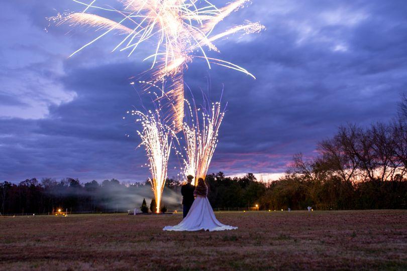 Dusk Fireworks