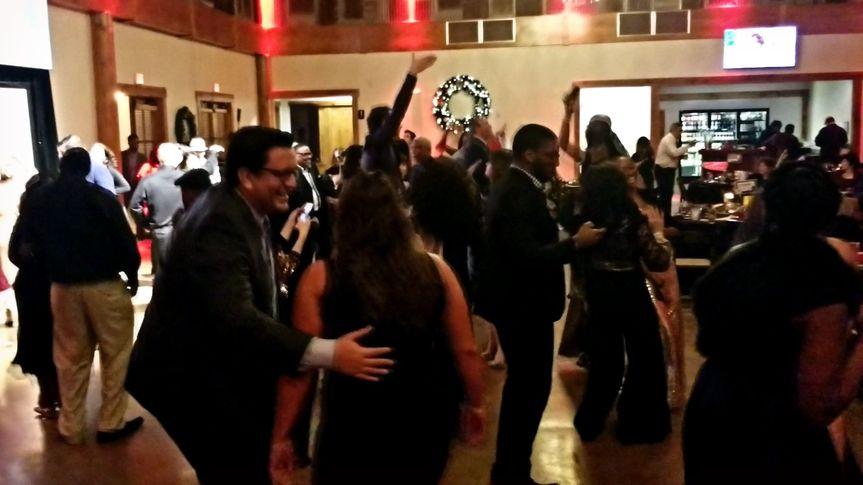 Happy Dancing Crowd