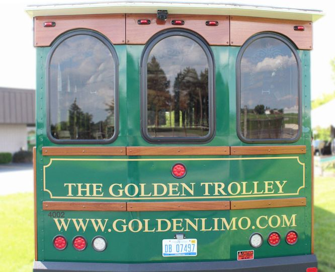 The golden trolley