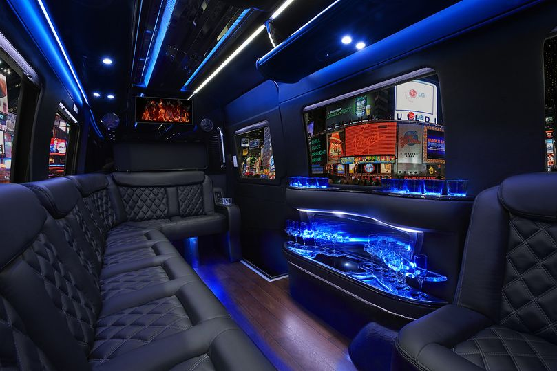 Luxury sprinter interior