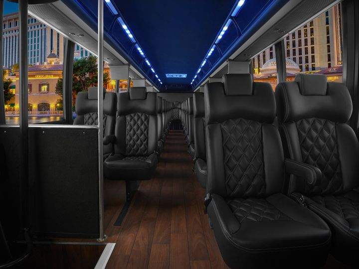 Tmx 1511996345213 Exec Coach   36 Passenger   Interior Milan, Michigan wedding transportation