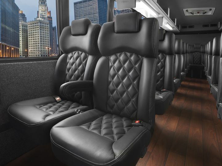 Tmx 1511996372502 Freightlinerinteriorweb Milan, Michigan wedding transportation