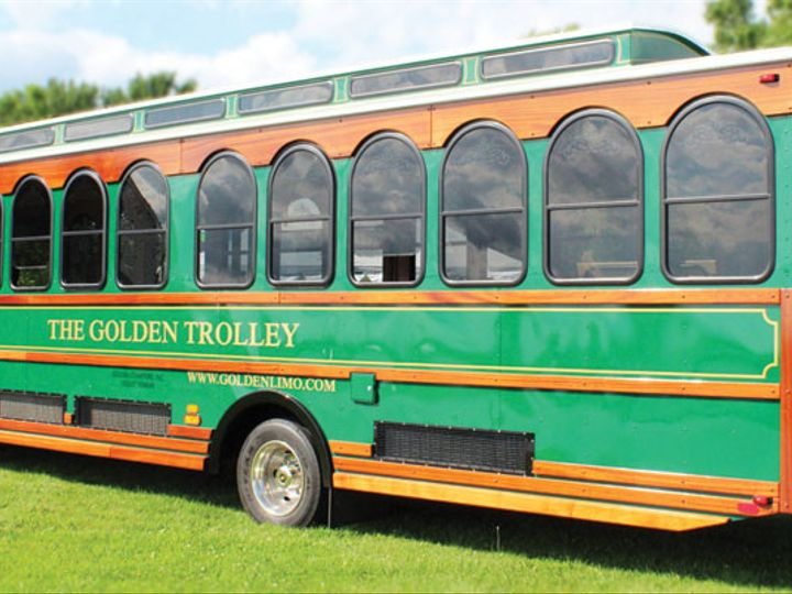 Tmx 1511996414174 Goldentrolleyleftweb Milan, Michigan wedding transportation