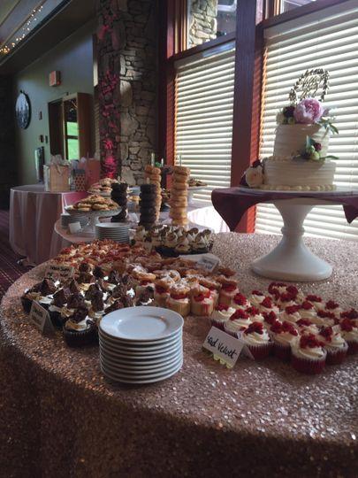 Specialty Dessert Display