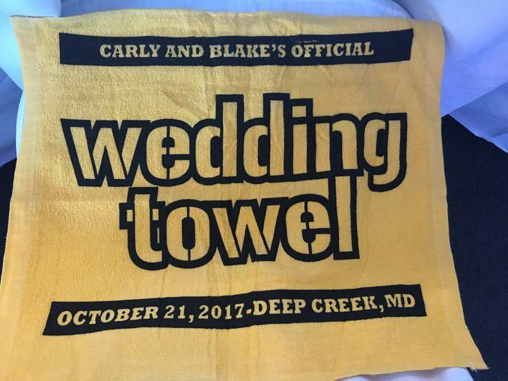 The wedding terrible towel