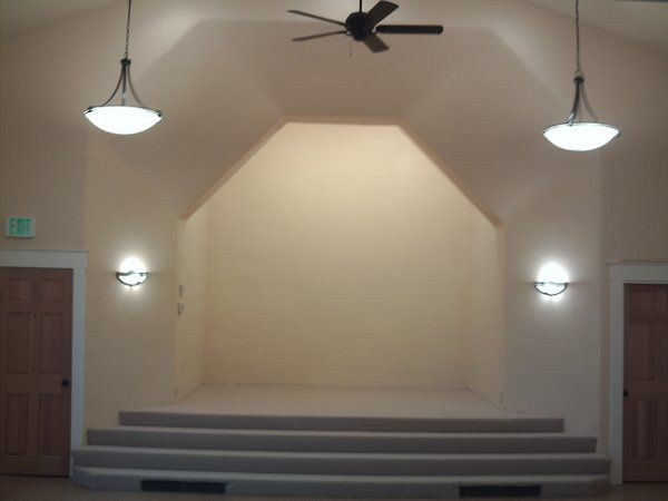 Chapel Stage:   This lovely historic chapel