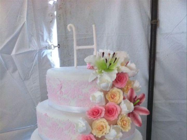 Tmx 1323803835448 Cakecascade Port Aransas wedding cake