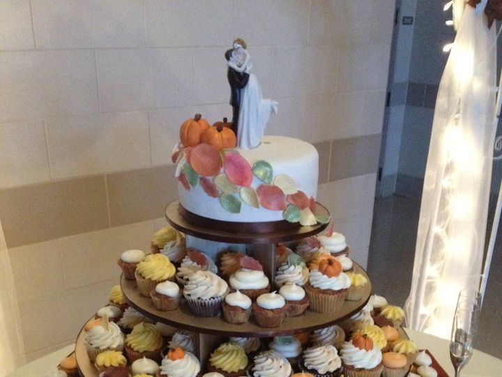 Tmx 1360690943237 Fallcupcakes Port Aransas wedding cake