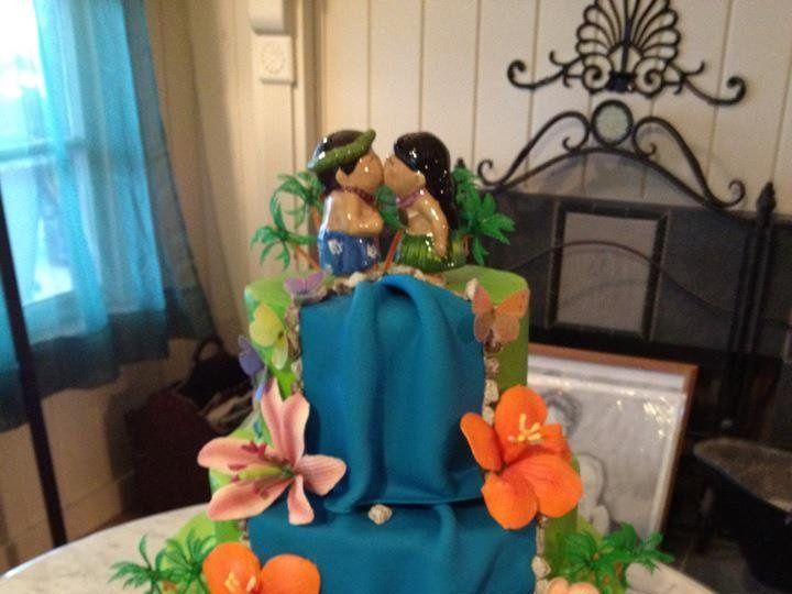 Tmx 1360691118185 Tropical Port Aransas wedding cake