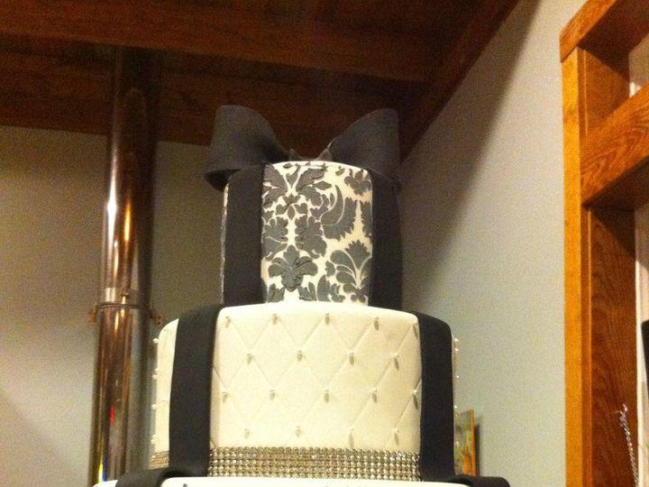 Tmx 1360691245035 Bowdamask Port Aransas wedding cake