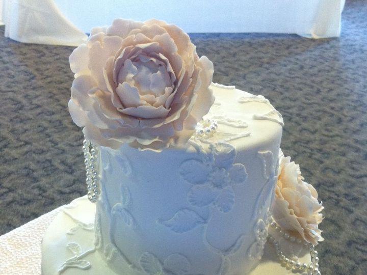Tmx 1360691300546 Peony1 Port Aransas wedding cake