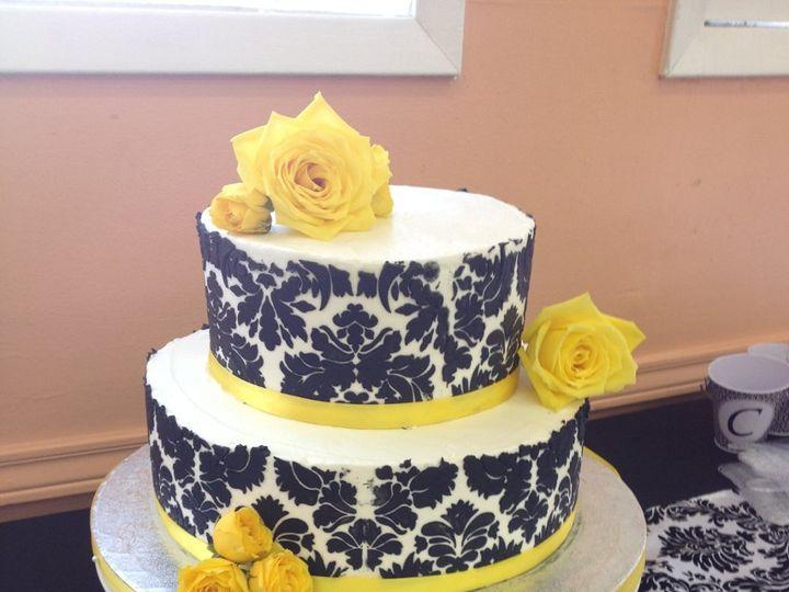 Tmx 1360691351346 Yellowdamask Port Aransas wedding cake