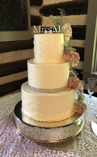 The Baker\'s Box - Wedding Cake - Hendersonville, NC - WeddingWire