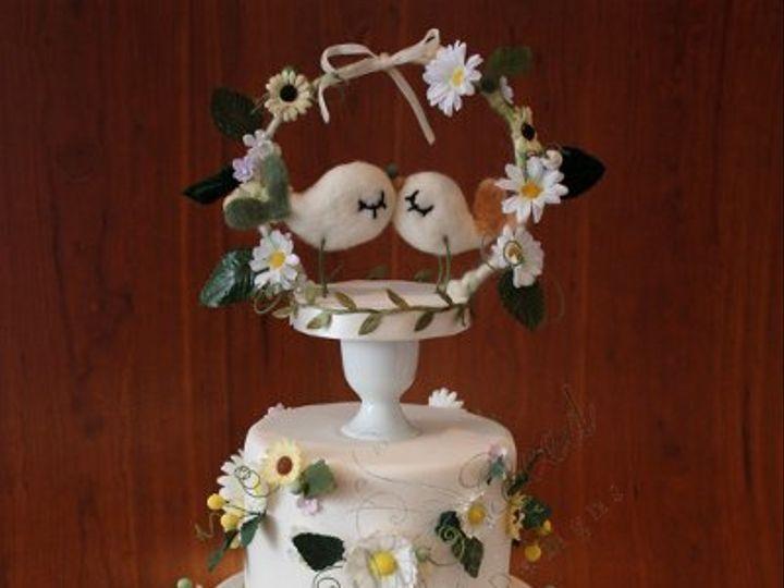 Tmx 1279813347281 IMG18742 Brooklyn wedding cake