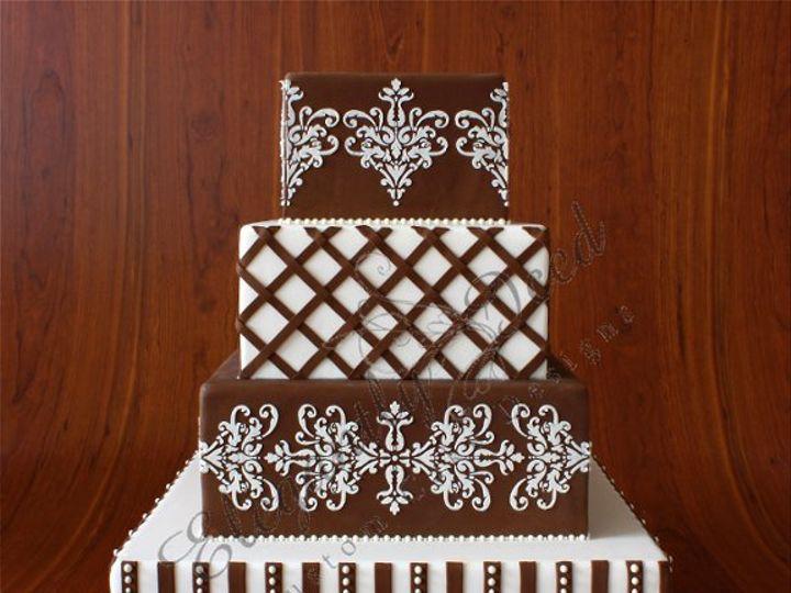 Tmx 1279813377421 IMG2002 Brooklyn wedding cake