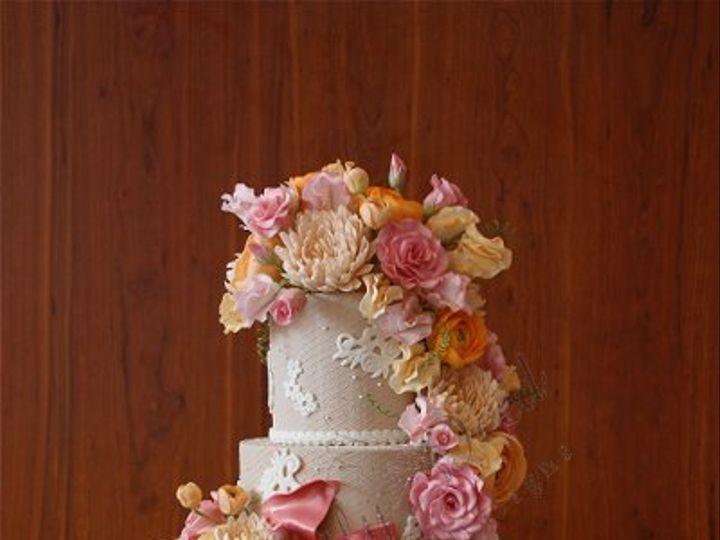 Tmx 1279813406390 IMG2324 Brooklyn wedding cake