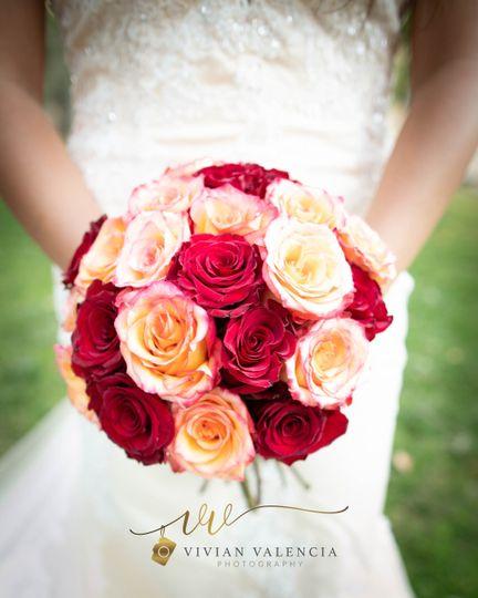 Exquisite Bridal Rose Bouquet