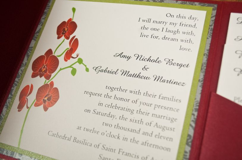 Differently Designed Wedding Invitations New Mexico