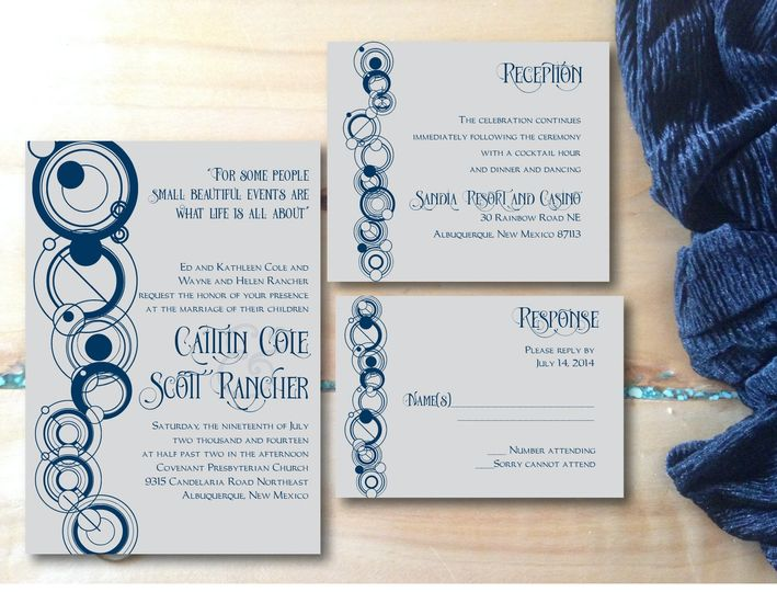 Differently Designed Invitations Albuquerque NM WeddingWire