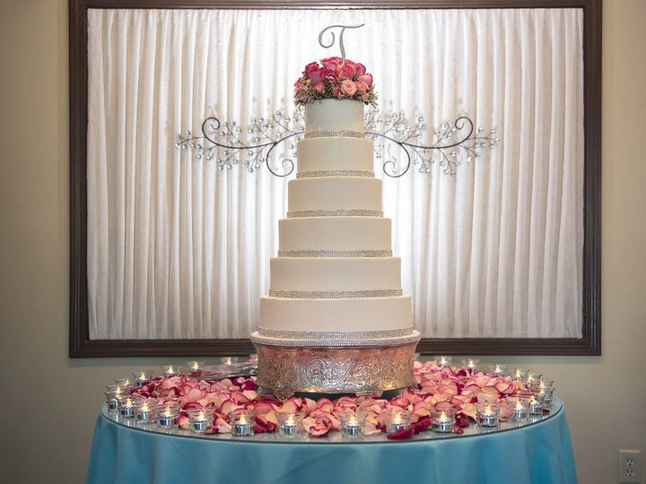 Tmx 1527612928 Cc8b1a8bb8d96170 1527612927 Decefd205f767d84 1527612929220 17 Floral Cake  1  Simpsonville, SC wedding venue